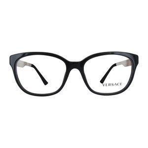 New Versace Black & Gold Eyeglasses